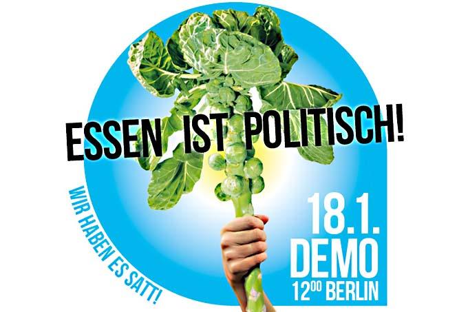 Wir haben es satt - Demo in Berlin @ Berlin