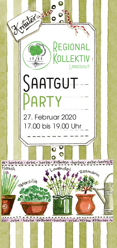 Saatgut-Tausch-Party @ Café International